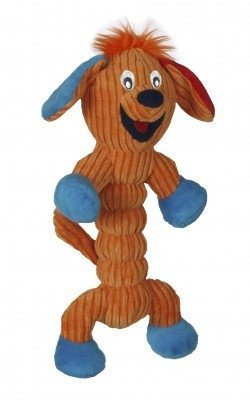 Charming Corduroy Zonkers Dog Pet Squeaky Toy