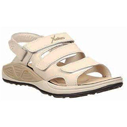 Xelero Bali Women's Comfort Therapeutic Extra Depth Sandal Shoe: Sand 9.0 Medium (B) Velcro (Bali Slide Sandal)