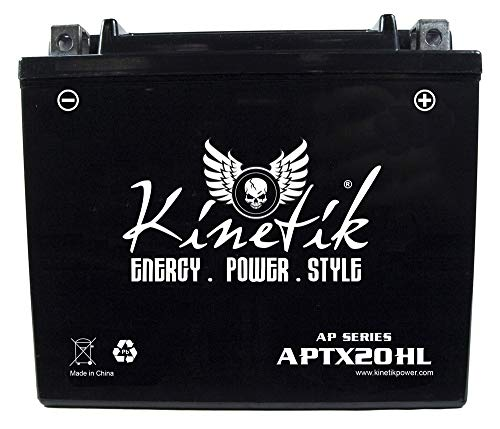 Kinetik 12V 18AH Battery for Yamaha 600 YFM600FW Grizzly 199