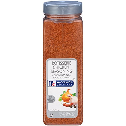 McCormick Culinary Rotisserie Chicken Seasoning, Chicken Rub Seasoning, 24 oz (Best Baked Turkey Wings Recipe)