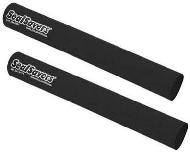 36-43mm Inverted Forks Only SealSavers Inverted Fork Protectors Black