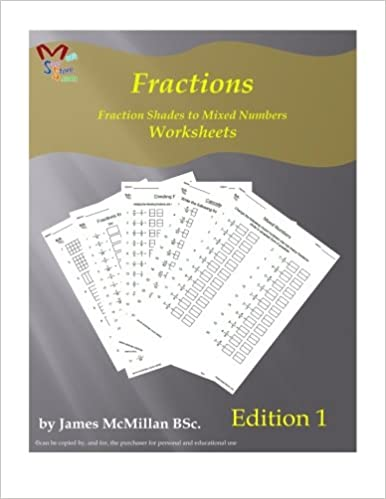 Amazon.com: Fractions: worksheets (9781530483853): James McMillan ...