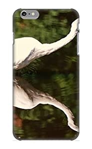 New Vijihu-5267-ennohsl Animal Egret Tpu Cover Case For Iphone 6 Plus - Best Gift Choice For Christmas