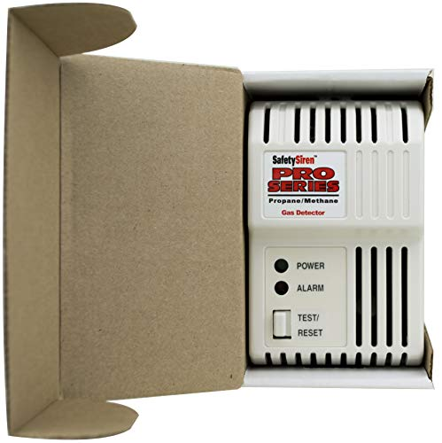 Safety Siren Pro Series3 Radon Gas Detector - HS71512 by Family Safety Products, ()