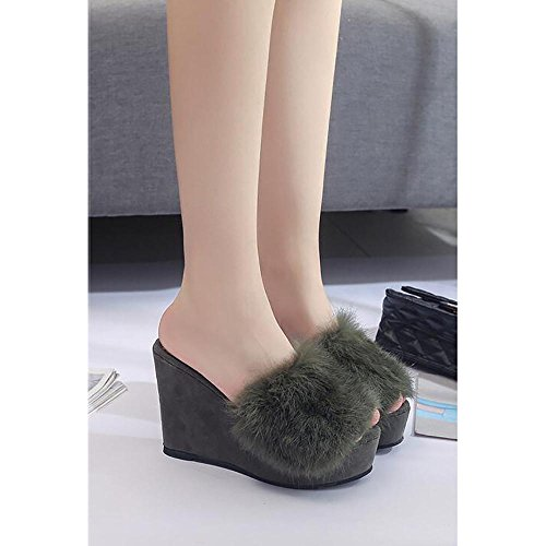 SEX Ciabatte da donna Flip Flops Pelliccia di peluche per scarpe autunno   inverno  Scarpe da casa e700035602d