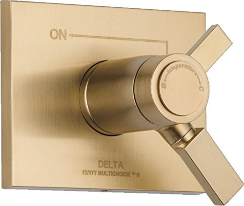 Delta Faucet T17T053-CZ Vero TempAssure 17T Series Valve Trim Only, Champagne Bronze