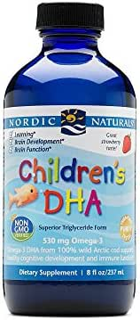 Nordic Naturals CLO, Childs DHA, 8-Ounce, 0.88 Bottle