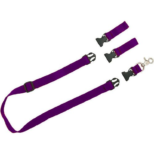 The Buddy System – Hands Free Leash – Regular Dog System – Purple Extra Buddy, My Pet Supplies