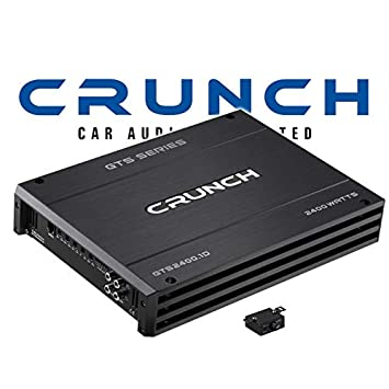 Crunch gts2400.1d - Digital Amplificador monobloque: Amazon.es: Electrónica