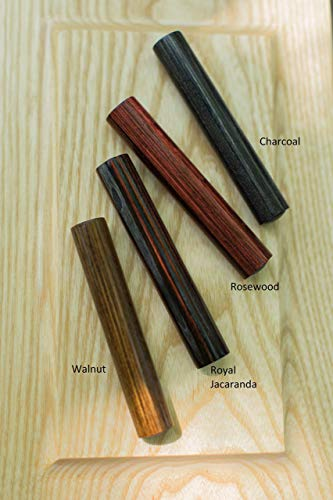 Wood Cremation Urn Ash Scattering Tube - Commemorative Urns Handmade - Small