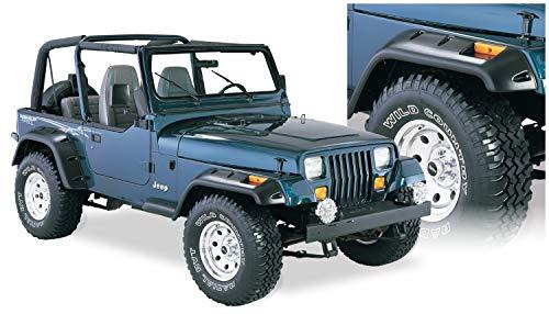 Bushwacker 10909-07 Jeep Cut-Out Fender Flare - Set of 4