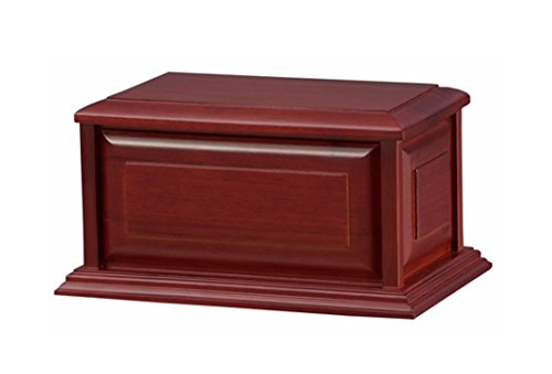 Solid Alder Wood Funeral Cremation Urn