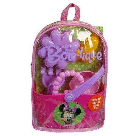 new-disney-minnie-mouse-sun-sand-pack-beach-toys-sand-pail-bucket-clear-backpack-set