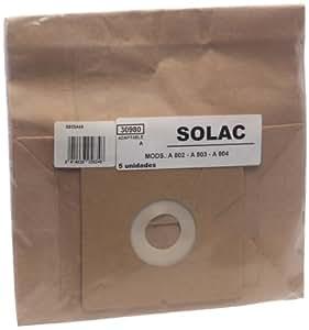 Solac A802-A803-A804 - Juego de bolsas para aspiradora