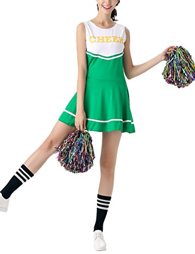 OUYAWEI Girl Cheerleading Team Costumes Sleeveless for sale  Delivered anywhere in Canada