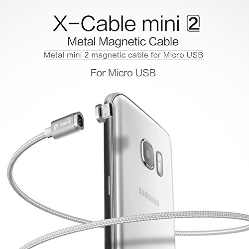 WSKEN Mini 2 Micro USB Magnetic Cable LED Display Sync and Fast Charger Cable for Android