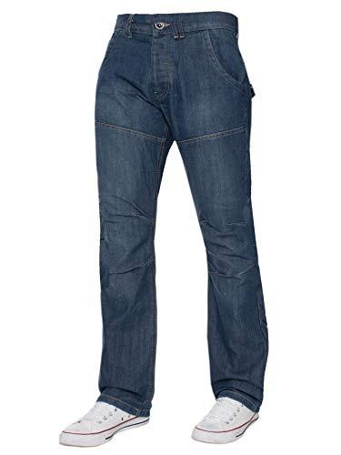 Homme Mi Lavee 38 Pierre Jean Grandes Du Coupe Droite Pantalon Kruze Pour Nouveau Au 58 Tailles Denim PqIaZ6