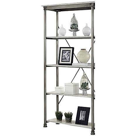 Atlin Designs 8 Shelf Multi Function Bookcase