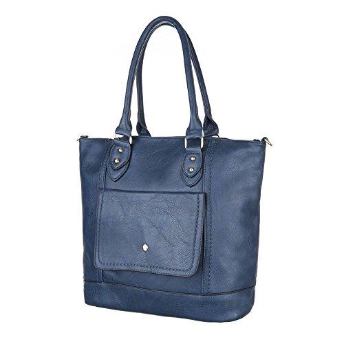 Ital-Design Schultertasche Bei Ital-design, Borsa a spalla Donna One Size