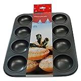 Eddingtons Traditional 12 Hole Mince Pie / Jam Tart Tin (Pack of 2)