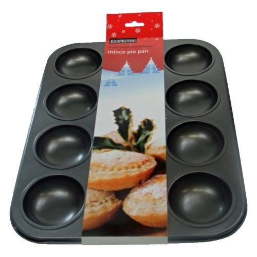 - Eddingtons Traditional 12 Hole Mince Pie/Jam Tart Tin (Pack of 2)