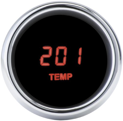 Dakota Digital MCL-3000 Series Oil Temperature Gauge for Harley Davidson 1996-2 (Harley Davidson Gauge Oil Temperature)