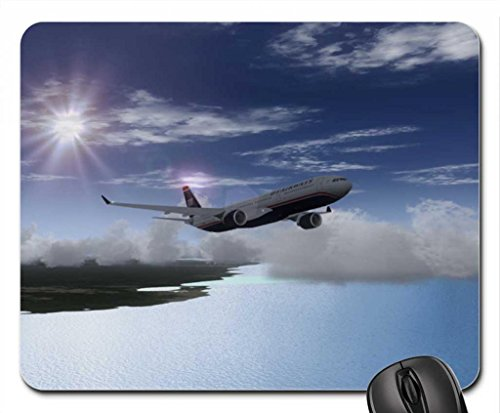 airbus-a330-us-airways-mouse-pad-mousepad-102-x83-x-012-inches