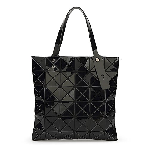 Shoulder Crossbody QZUnique Laser Tote Jelly Black Color Tote Summer Women's Bag Bag Bag Handbag WPTqC6P