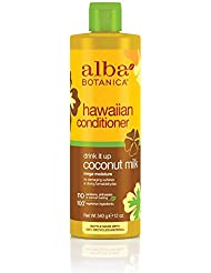 Alba Botanica Drink It Up Coconut Milk Hawaiian Conditioner, 12 oz.