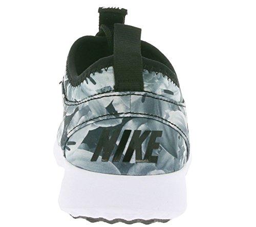 Nike Wmns Juvenate Flo Print, Zapatillas de Deporte para Mujer Negro (Black / Black-White)