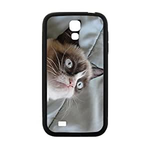Peculiar Cat Hight Quality Plastic Case for Samsung Galaxy S4