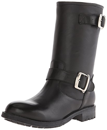 Gabriella Rocha Womens Stomper Black Vintage Leather Kjv5NhxT