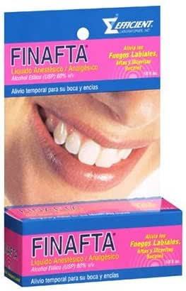 Finafta Oral Liquid Anesthetic/Analgesic 0.5 oz.