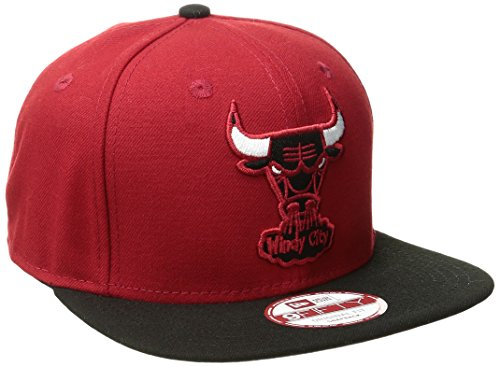 - NBA Chicago Bulls Hardwood Classics 2Tone Basic 9FIFTY Snapback Cap, One Size, Scarlet/Black