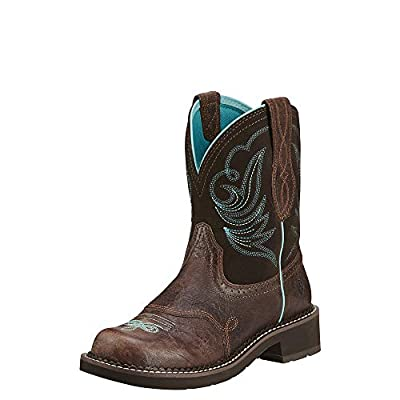 ARIAT Women's Fatbaby Heritage Dapper Western Boot Royal Chocolate Size 8 C(M) Us