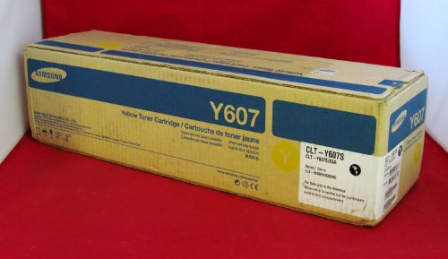 Price comparison product image Genuine Samsung CLT-Y607S Yellow Toner Cartridge-by-Samsung