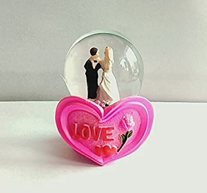Buy Gayatri Trader Valentine Gift Lighting Snow Globe Love