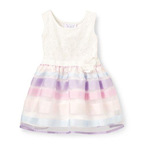 The Children's Place Baby Girls Sleeveless Dressy Dress, Charisma 4957, 5T