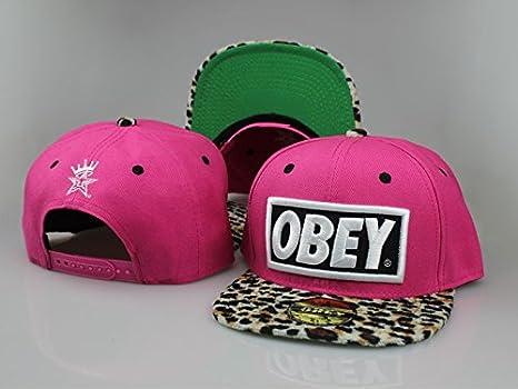 Edición limitada ajustable sombreros tapas Obey Gorra Sombrero ...