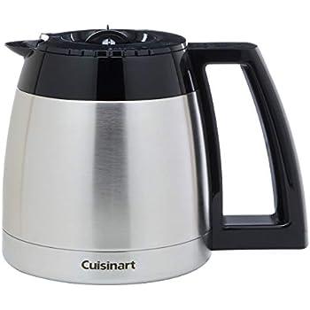 Amazon.com: Cuisinart dgb-600rc 10-cup inoxidable jarra ...
