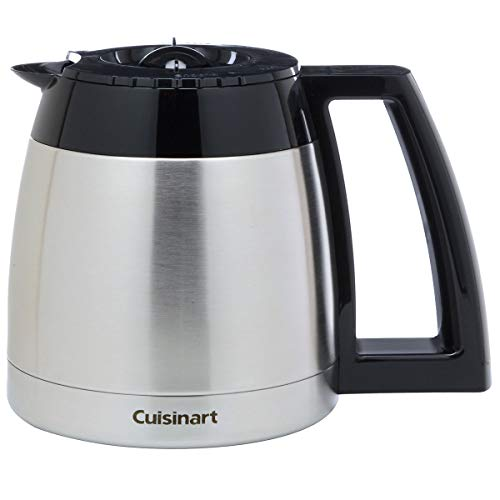 Cuisinart DGB-600RC 10 Cup Stainless Thermal Carafe with Lid, Chrome