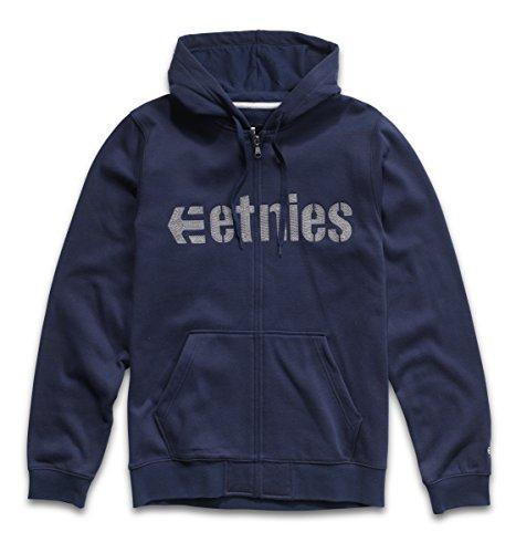 Sweatshirt Etnies Mens (Etnies E-Lock Zip Hoodie Mens Sz L)