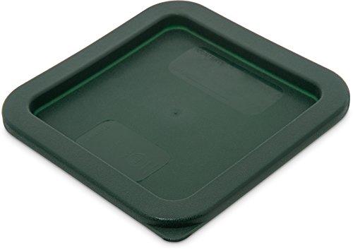 Carlisle 1074008 Storplus Square Container Lid, 2-4 Quart, D