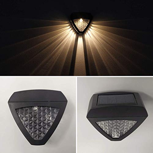 Hardoll Solar Lights for Home LED Wall Light for Garden Outdoor Decorative Waterproof (Pack of 1)