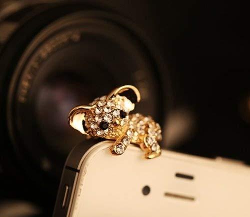 Big Mango Cute Crystal Metal Koala Anti Dust Plug Stopper   Ear Cap   Cell  Phone 183ce59c937d