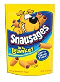 "Delmonte Foods 7910050742 ""Snausages"" Dog Treat Beef and Cheese, My Pet Supplies"