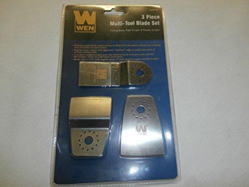 Wen 3 Piece Multi-tool Blade Set (Wen Multi Tool)