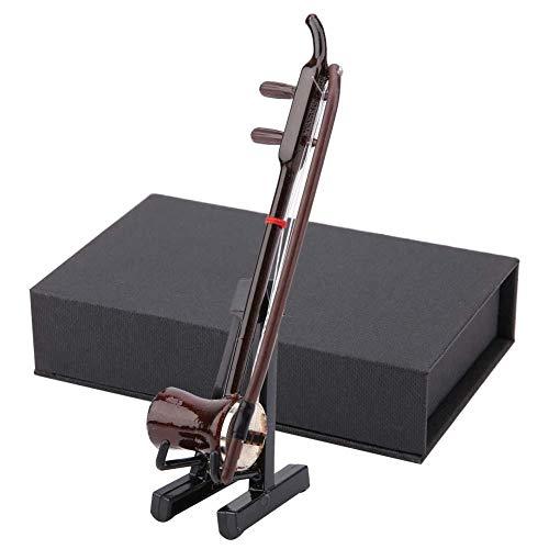 Zerone Miniature Wooden Musical Instruments Model Display Mini Ornaments Craft Home Decor(10CM)