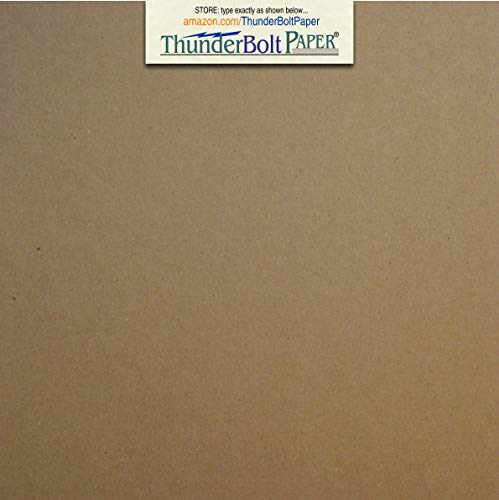 100 Sheets Chipboard 20pt (point) 6