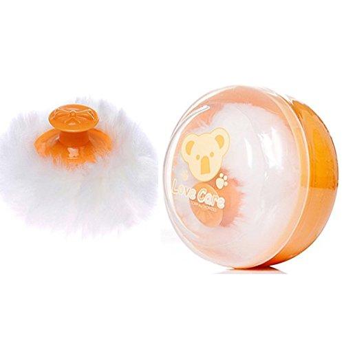 1 Pc Baby Safety Powder Puff Box Baby Talcum Powder Puff – The Super Cheap